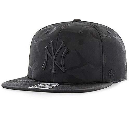 Mlb Brand Snapback Yankees New Capitano Noir 47 York Homme p1Bwqx55d