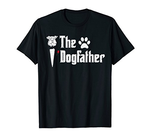 Mens Miniature Schnauzer The DogFather Tshirt