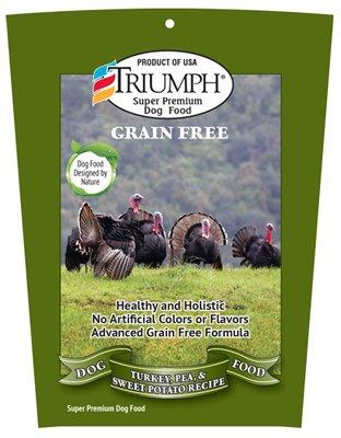 Triumph Grain-Free Turkey, Pea and Sweet Potato Dog Food, 3 lb. Bag Review