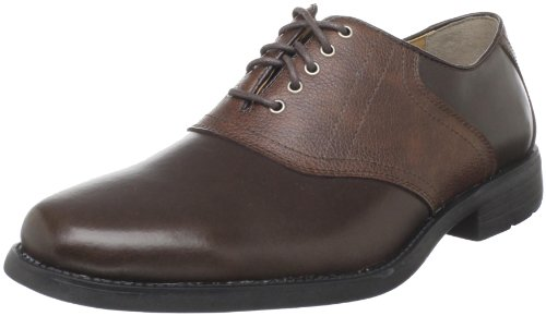 Hush Puppies Men's Pacino Oxford,Brown/Red,8.5 M US