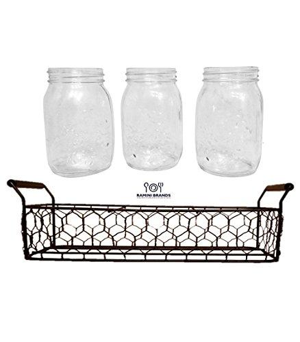 Mason Jar Kitchen Decor Set: Best 5 Kitchen Decorations Theme Sets Mason Jar To Must