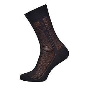 5-pack Men's Ultra thin Breathable Cotton Dress Socks, 5-pack