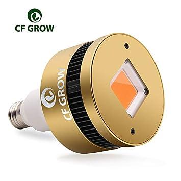 CFGROW LED Plant Growth Bombillas 150W, COB LED Grow Lamp Full Spectrum E27 Iluminación para Plantas Lampara Crecimiento de Plantas ...