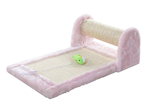 Armarkat Cat Kitten Scratching Sisal Board with Toy X0602