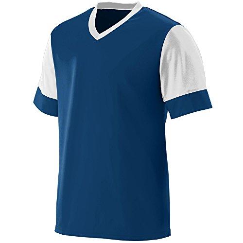 Augusta Sportswear Men's Lightning Jersey L Navy/White (Frauen In Augusta)