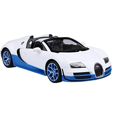 Radio Remote Control 1/14 Bugatti Veyron 16.4 Grand Sport Vitesse Licensed  RC Model Car (White): Amazon.co.uk: Toys U0026 Games