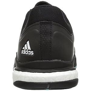 adidas Women's Crazyflight X Volleyball Shoe Black/White/Light Solid Grey,10.5 M US
