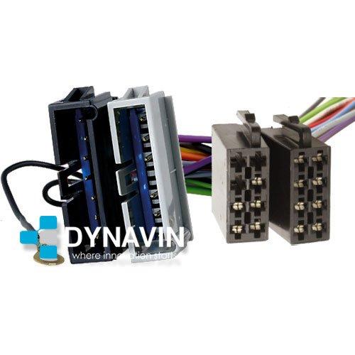 ISO-CHY.1990 - Conector iso universal para instalar radios en Chrysler, Dodge y Jeep. Dynavin