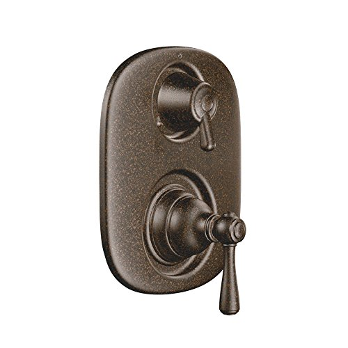 - MOEN T4111ORB Kingsley Moentrol Shower 3-Function Integrated Diverter Trim, Valve Required, One Size, Oil-Rubbed Bronze