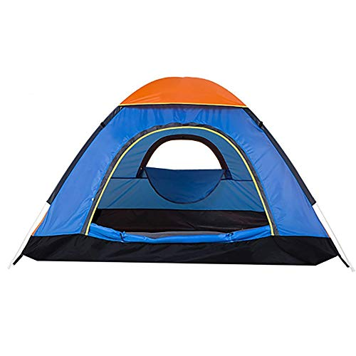 NILINLEI Camping Automatic Instant Pop-up Family Tent, Single-Layer Waterproof Backpack, 220 220 130cm