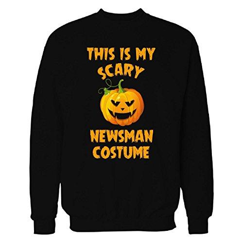 [This Is My Scary Newsman Costume Halloween Gift - Sweatshirt Black M] (Newsman Costume)
