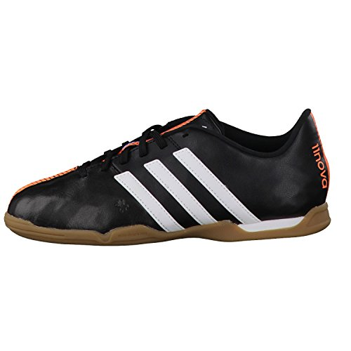 Adidas botas de fútbol infantil 11 Nova IN J B44418 Nero - core black/ftwr white/flash orange s15