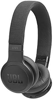 Fone de ouvido LIVE 400BT, JBL com Alexa Integrada, Preto