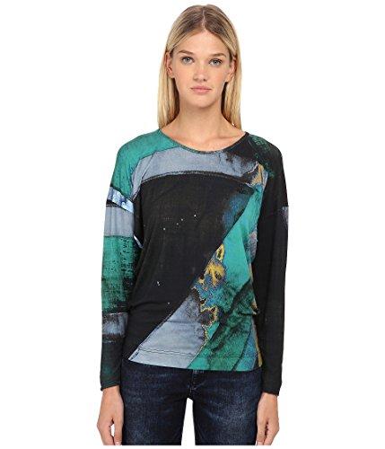 (Vivienne Westwood Women's Manifestation T-Shirt, Green/Black MD)