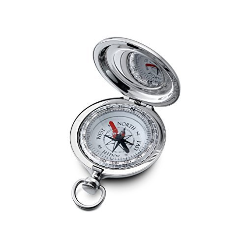 Engraved Dalvey Sport Compass Compact (Front and Back Engraved)