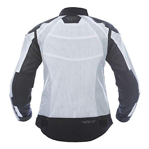 Fly Street Cool Pro Mesh Womens Motorcycle Jackets - White/Black - Small