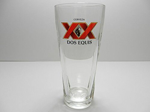 Dos Equis Millennium XX Signature Pint Glass | Set of 2 Glasses