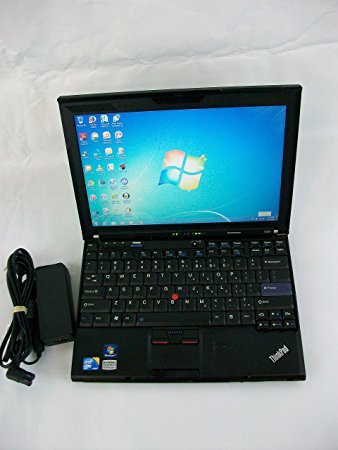 Lenovo ThinkPad X201 3626F2U 12.1-Inch Notebook (2.5 GHz Intel Core i5-540m Processor, 4GB DDR3, 320GB HDD, Windows 7 Professional) Black (Laptop Lenovo X200)