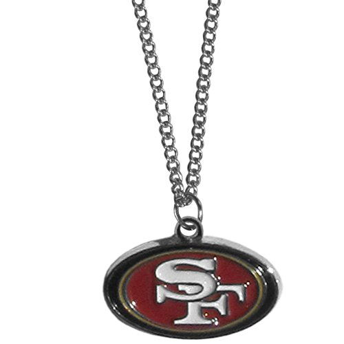 Siskiyou NFL San Francisco 49ers Chain Necklace with Small Pendant, 20