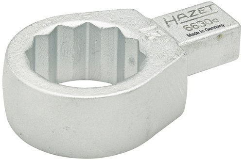 HAZET 6630C-10 42.1 mm 12-Point Traction Profile Insert Box-End Wrench - Chrome-Plated by Hazet