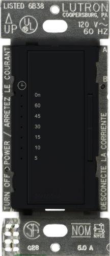 - Lutron MA-T51-BL Maestro Countdown Timer, Black