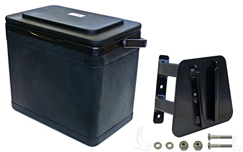 Insulated Large Capacity 11.75 Quart Cooler for Yamaha Drive Driver Side Mount (Yamaha Drive)