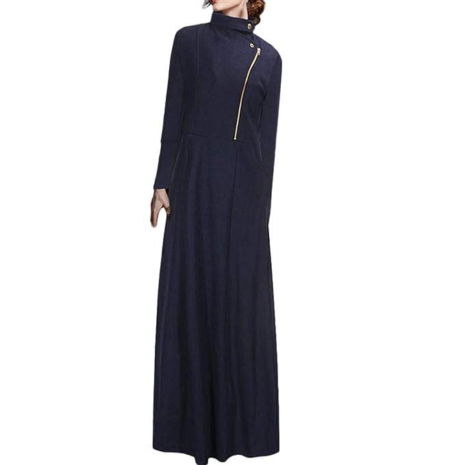 Linlink Chaqueta de Cuerpo Entero para Mujer Abrigos de Longitud Completa Chaqueta Coat Winder Breaker Slim