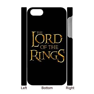 Classic Case Lord of the Rings pattern design For Apple iPhone 4,4S(3D) Phone Case