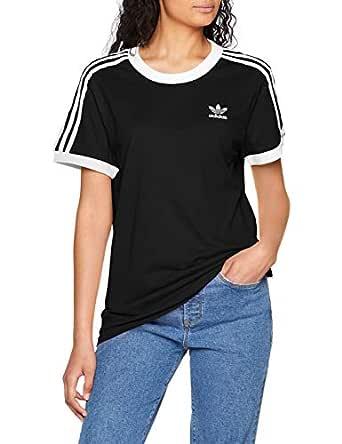 adidas Women's CY4751 3 Stripes T-Shirt, Black, 32