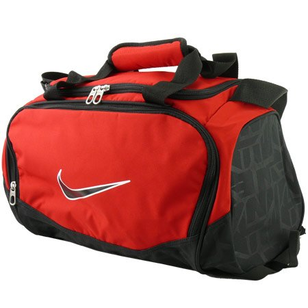 1aa6ab0c0a52 New Nike Brasilia 5 X-Small Duffel Bag Gym Red Black Black (B00AB0KWMU)
