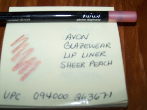 Lot of 3 Avon Glazewear Lip Liner in Shade Sheer Peach- Discontinued Shade!