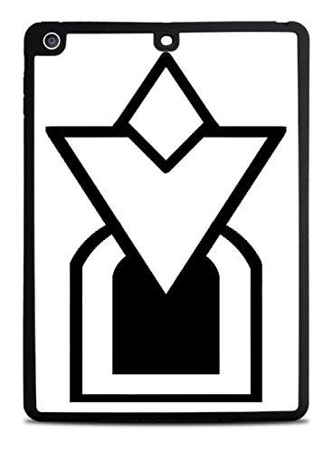 quest arrow Black iPad Air Silicone Case