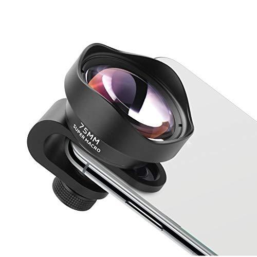 Waitousanqi Mobile Phone Macro Lens, Universal Lens, SLR Micro Lens, Long Distance Macro, 75MM Large Aperture Without Vignetting n12