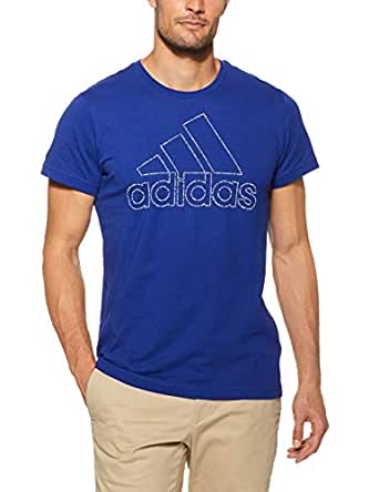 adidas Men's Badge of Sport ID T-Shirt, Mystery Ink, S