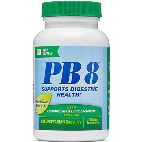 Nutrition Now PB 8 ProBiotic Acidophilus Vegetarian - 120 VegCap, 2 Pack
