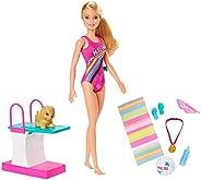 Boneca Barbie - Barbie Dreamhouse Adventures - Barbie Nadadora, Multicor, Mattel