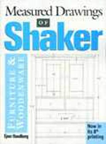 Shop Drawings of Shaker Furniture & Woodenware (Vols, 1, 2 & 3) (Vol. 1, 2 & 3)