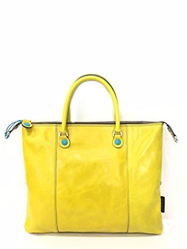 GABS G3 E17 STST Borsa donna in pelle Tg M giallo