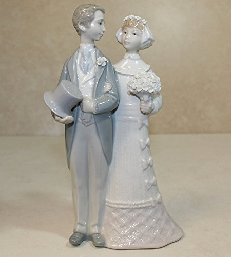 Lladro Figurine, 4808 Wedding, Bride and groom (Lladro Figurine Wedding)