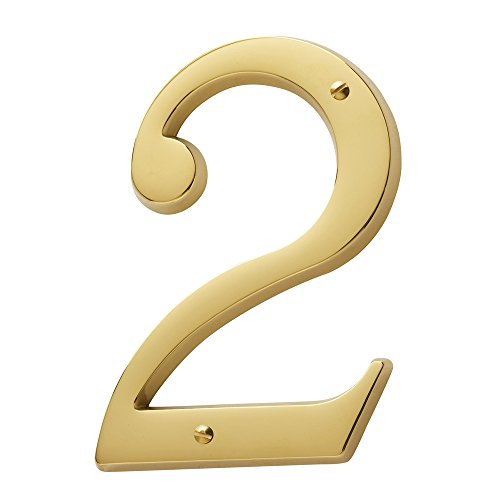 Baldwin Brass House Numbers - 4