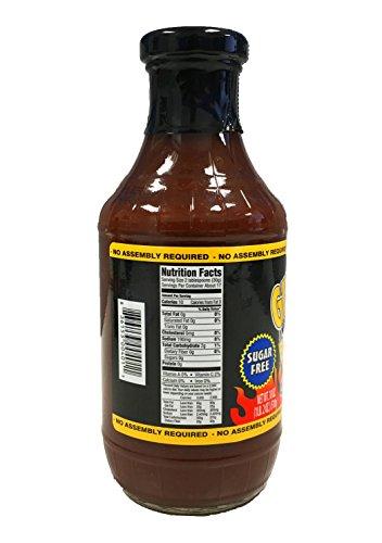 Value 2 Pack: Guy's Award Winning Sugar Free BBQ Sauce, Original Flavor