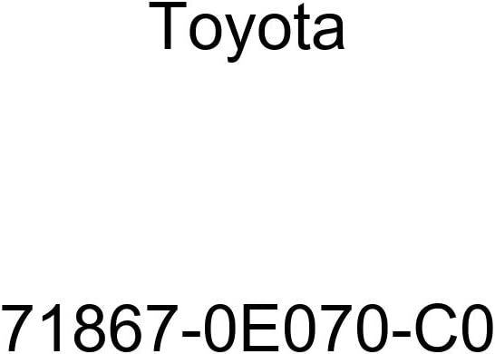 Toyota Genuine 71868-0E070-C0 Seat Cushion Shield