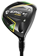 The new Epic Flash Sub Zero fairway wood combines our groundbreaking new Flash Face Technology with precision shot-shaping technology for high swing speed players. We used Artificial Intelligence (A.I.) and Machine Learning to develop Flash F...
