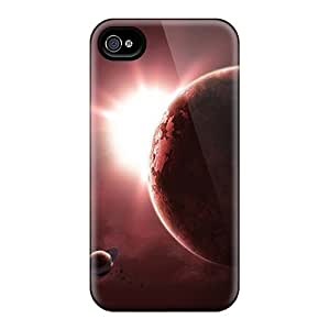 Awesome Design Red Space Hard Cases Covers For Iphone 6