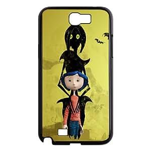 Samsung Galaxy N2 7100 Cell Phone Case Black Coraline 006 YE3395057