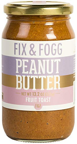 Gourmet peanut butter with Cinnamon, Apple and Raisins. Handmade in New Zealand. All natural and Non-GMO by Fix & Fogg. Vegan, Keto friendly. Superior tasting PB in a beautiful canister ()
