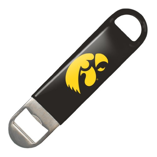 (NCAA Iowa Hawkeyes Vinyl Covered Long Neck Bottle Opener)