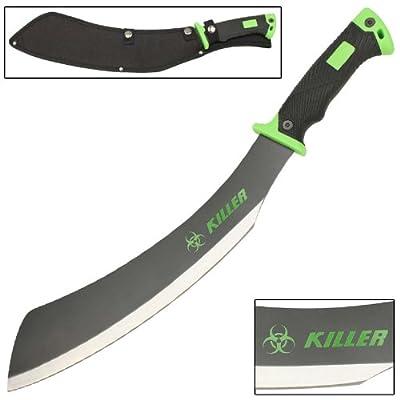 Savage Steel Zombie Killer Apocalypse Parang Chopping Rugged Machete knife: Sports & Outdoors