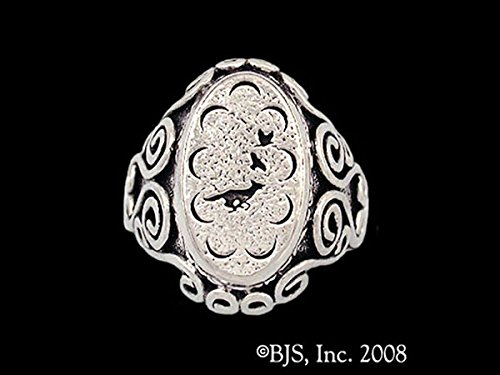 The Wheel of Time Robert Jordan Mat Cauthon's Signet Ring in Sterling Silver by Badali