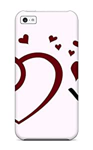 Hot Waterdrop Snap-on Happy Valentines Day Case For Iphone 5c